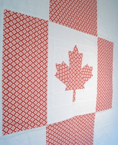 Maple Leaf paper piece pattern