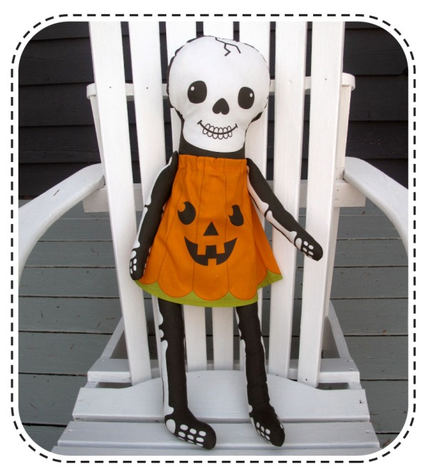 skeleton sewing pattern