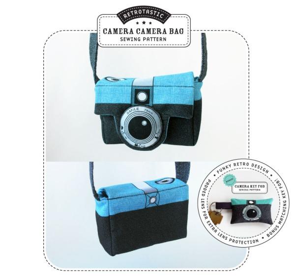 retro camera bag