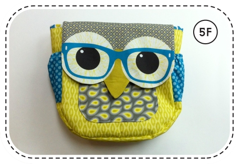 Owl courier Bag pattern