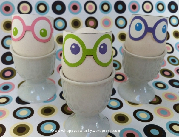 Eggs with glasses