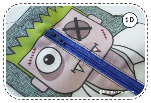 happy sew lucky zombie