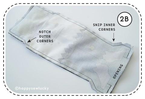 pouch seams