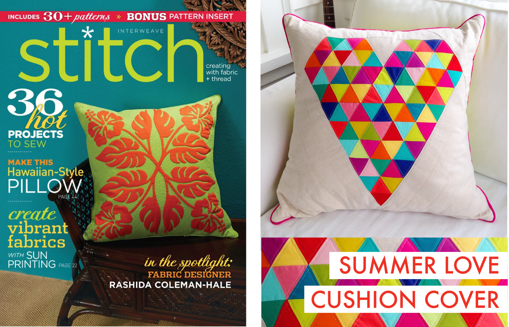 SUMMER LOVE CUSHION COVER