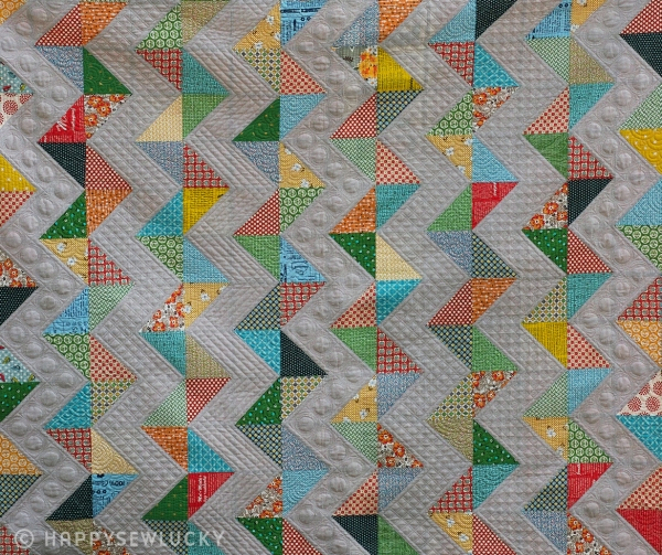 Vintage Chevron Quilt Home Sweet Home Happy Sew Lucky Patterns